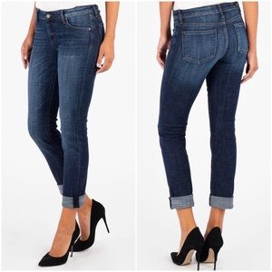 Kut From The Kloth Catherine Boyfriend Jeans Sz 10